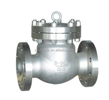 API 6A 6D ASME standard check valve for oil pipeline valve and gas pipeline valve