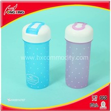 Dot design personalised clear water bottles printing for kids