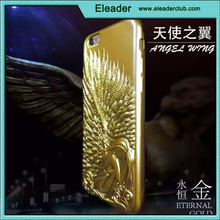 for iphone 6 soft rubber angel wings case