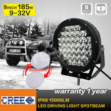 new arrival 185w round cree led driving light ,led off road light for ATV,UTV,TRUCK ,4x4 off road use seckill 90w/70w