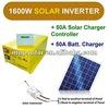 1600w surge 3.2kw 24v 50A Pure Sine Wave solar power inverter charger UPS inverter