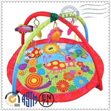 Wholesale Colorful funny comfortable cotton plush baby mat