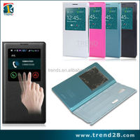 high quality leather flip battery back cover for samsung galaxy note 3