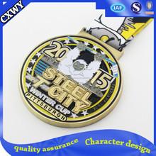 Antique Gold Metal Medal