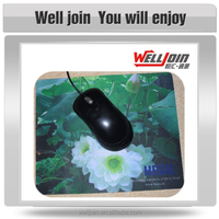 High Quality Cheap Portable Gaming Rubber Custom Mouse Pad