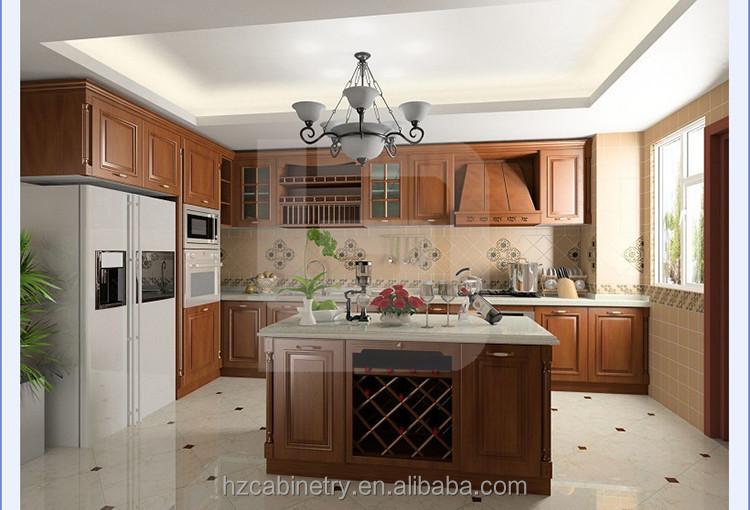 China hizo mueble cocina mdf mueble cocina gabinetes de cocina ...