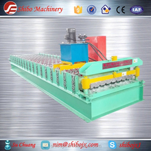 trapezoid rib roof tile R panel roll forming machine from China