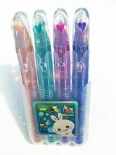 Glitter Gel pen tattoo gel pen-4 colors in pp box