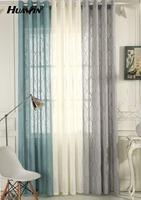 wholesale from factory hot selling latest embroidery design living room curtains