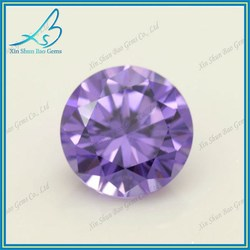 Guangxi Wuzhou synthetic cubic zirconia diamond stone