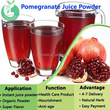 100% organic Pomegranate fruit juice powder/pomegranate juice powder/pomegranate powder