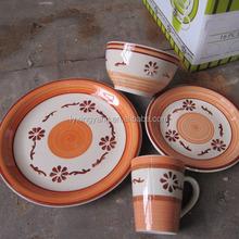 stoneware cooking sets, stoneware dinner set, stoneware dinnerware set