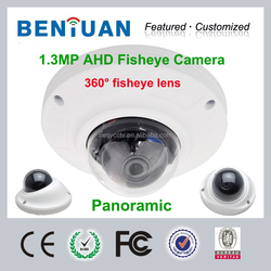 2015 Top10 AHD Camera, 360 Degree AHD Fisheye Camera, fisheye lens for cctv camera