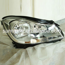 For Mercedes-Benz W204 C180 C200 230 C260 Head Lamp 2012 to 13 Chrome Housing DB