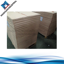 450gsm one side white color another grey color cardboard for printing and package
