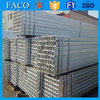 Tianjin gi square rectangular pipe ! galvanized steel tubes shs rhs chs hot dipped galvanized steel water pipes