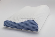 Moulding Memory foam anti snore therapy ergonomic contour pillow