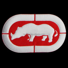 Classic embroidered patch with adhesive back