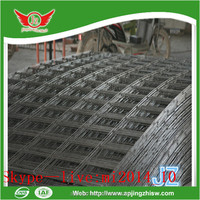 plain woven stainless steel welded wire mesh belt for prefabricated houses