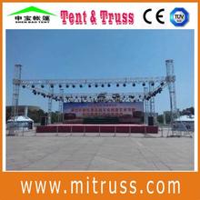Aluminum global truss roof truss system design for hanging speakers outdoor