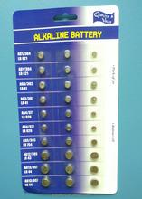 24 pcs / blister card ag battery ag1 ag3 ag4 ag5 ag12 ag13 battery of 24 x