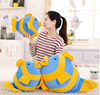 2015 hot selling alibaba light up goldfish soft pillow plush toy with intelligent dialogue device