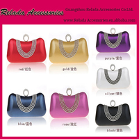 Factory wholesale ladies clutch bags handmade purse rhinestone evening purse party evening ladies purse