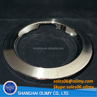 Chrome plated plastic parts used for Washer Machine