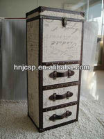 linen trunk chest,fabric chest of trunk,antique chest and trunk