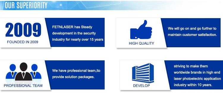 laser fence security system