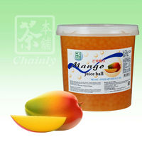 Wholesale Popping Boba Mango Fruit Juice In Popping Balls