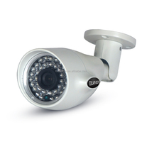 Outdoor IR bullet 30m night vision 6mm 2mp lens network cam P2P 1.3MP POE ip camera ipc