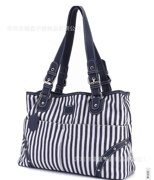 cotton canvas tote bag with strap pattern