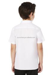Unisex school uniform blank t shirt 100% cotton white t shirt can OEM children