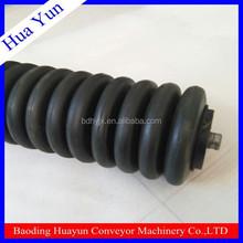 conveyor belt rubber ring type impact take up roller