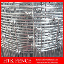 Factory direct sale Galvanized hinge joint knot field fence mesh for animals&hinge joint field fencing&horse farm fence