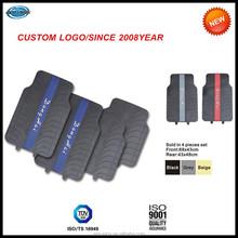 Custom Branded Logo Front & Rear Car Truck SUV Seat Rubber Floor Mats