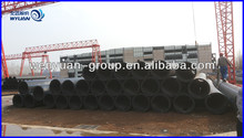 PE Pipe price list/HDPE pipe for water supply/black plastic pipe roll