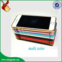 Newest brushed aluminum metal cell phone cases for iphone5