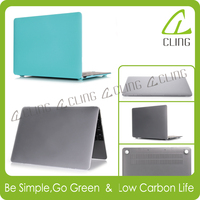 Rubberized matte soft frosted PC case laptop cover for Macbook shell air pro retina 11 12 13 15 custom