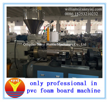 pvc interior decoration sheet production line producted from the founder of PVC extruder in China