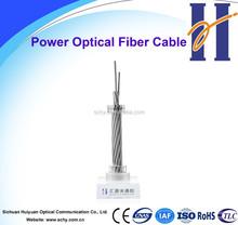 Single mode fiber optic cable composite overhead OPGW