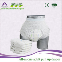 NATEEN high quality adult diapers and plastic pants