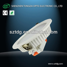 30W SAA TUV led recessed downlight for Australia Market