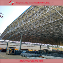 Light weight and low cost prefab steel truss roof kit system