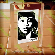 Concise Acrylic picture frame backboard