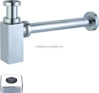 """Brass round siphon/ bottte trap 1""""1/4 WATERMARK &CE A5444"""