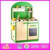 2015 New promotional wooden kitchen toy,intelligent wooden kitchen toy set WJ278615