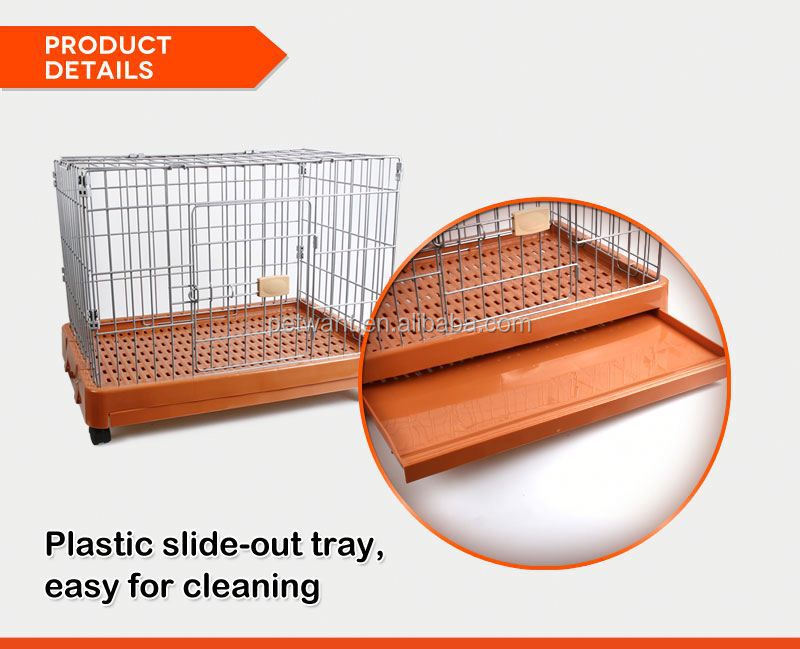 Powder Sprayed dog kennel cage stainless steel