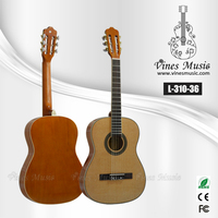 36inch good qualtiy chinese classical guitar for beginner